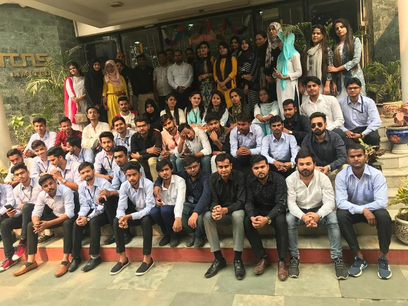 MBA-First Year Students Visited Manufacturing Plant of TCNS Limited NOIDA